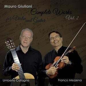 Complete Works for Violin and Guitar Vol. 2
